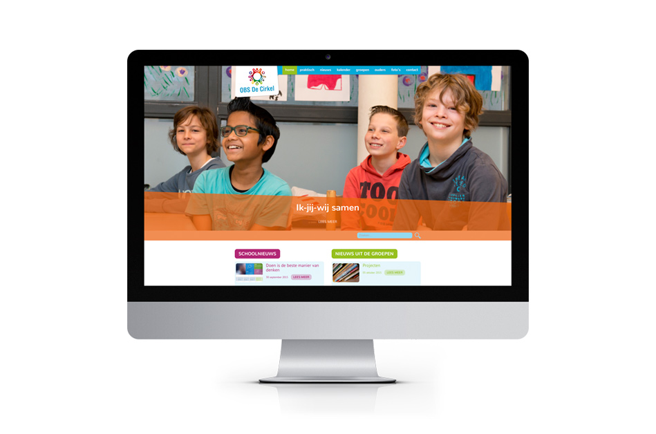 OBS De cirkel - website