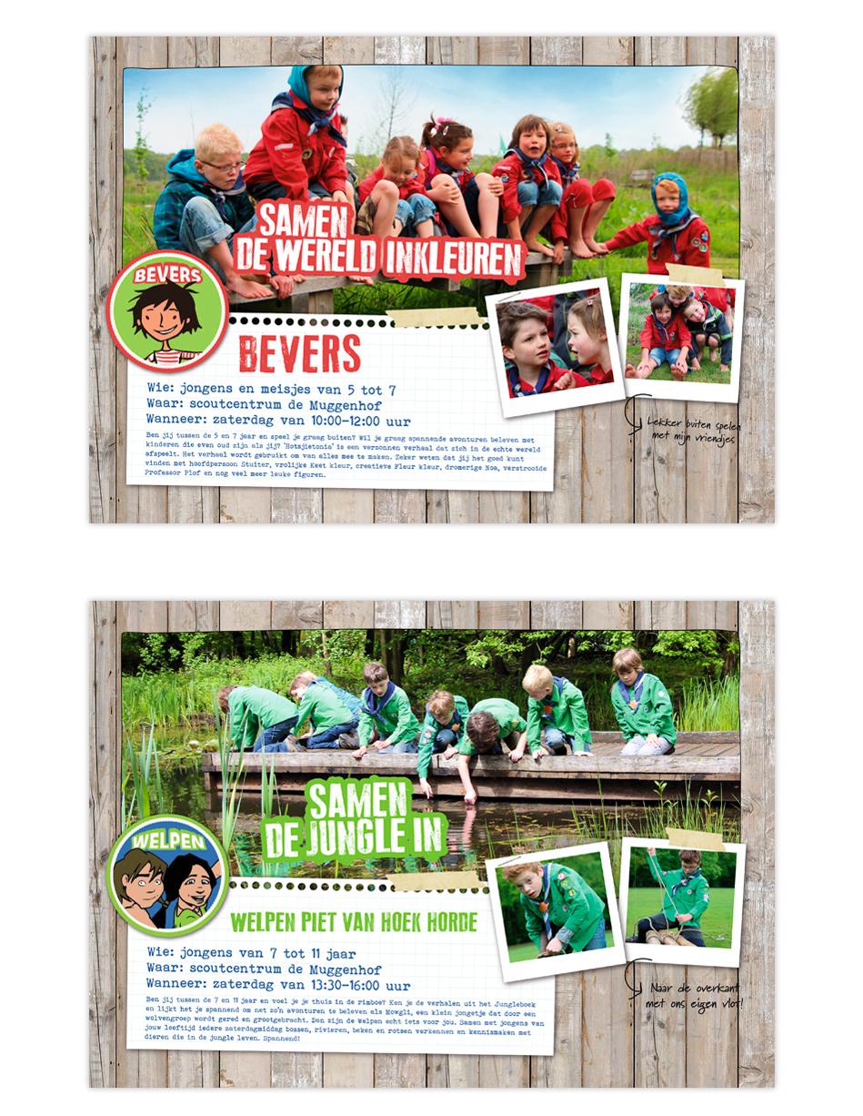Scouting Deurne - Borden open dag