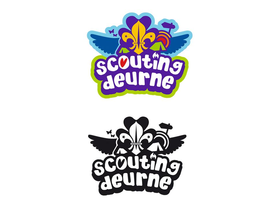 Scouting Deurne - Logo