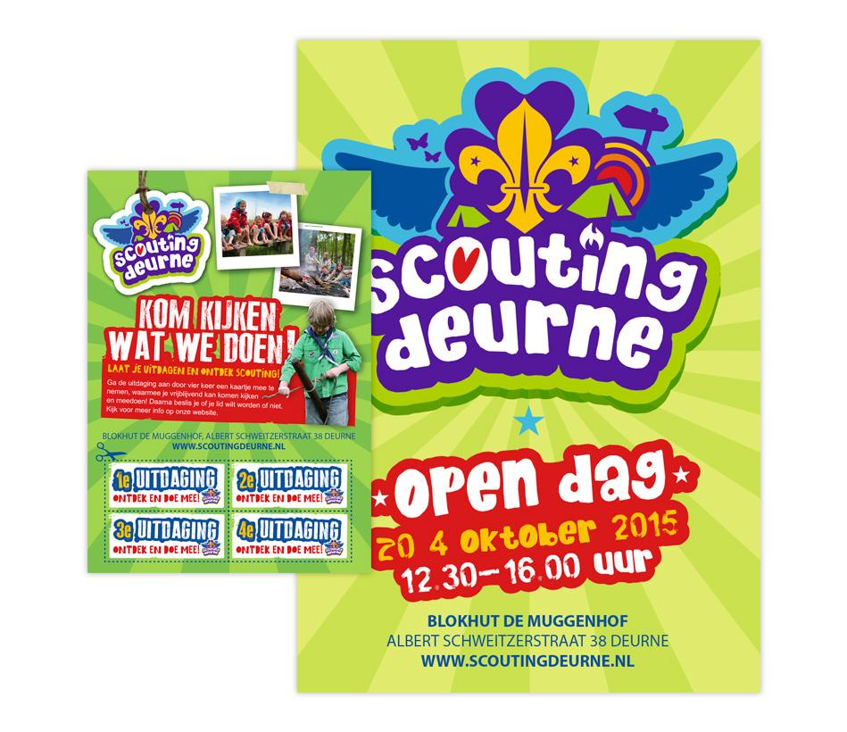Scouting Deurne - Poster FLyer
