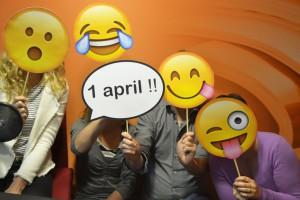 1 april grap Dedicon