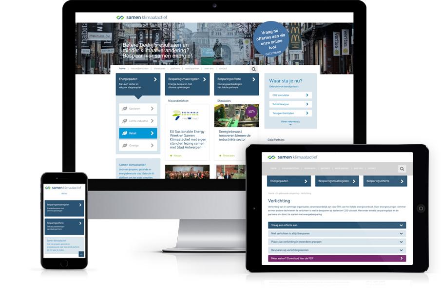 Samen Klimaatactief - Website