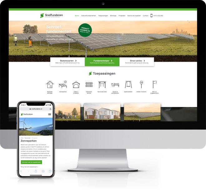 Snelfunderen website