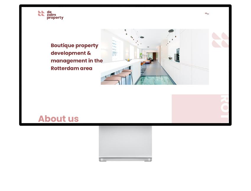 De Zalm Property website
