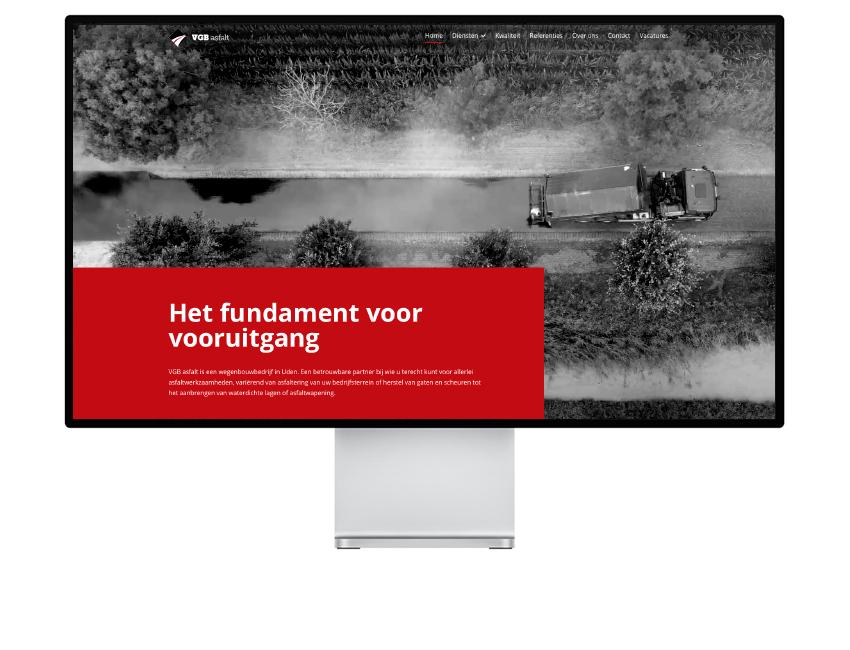 VGB Asfalt website